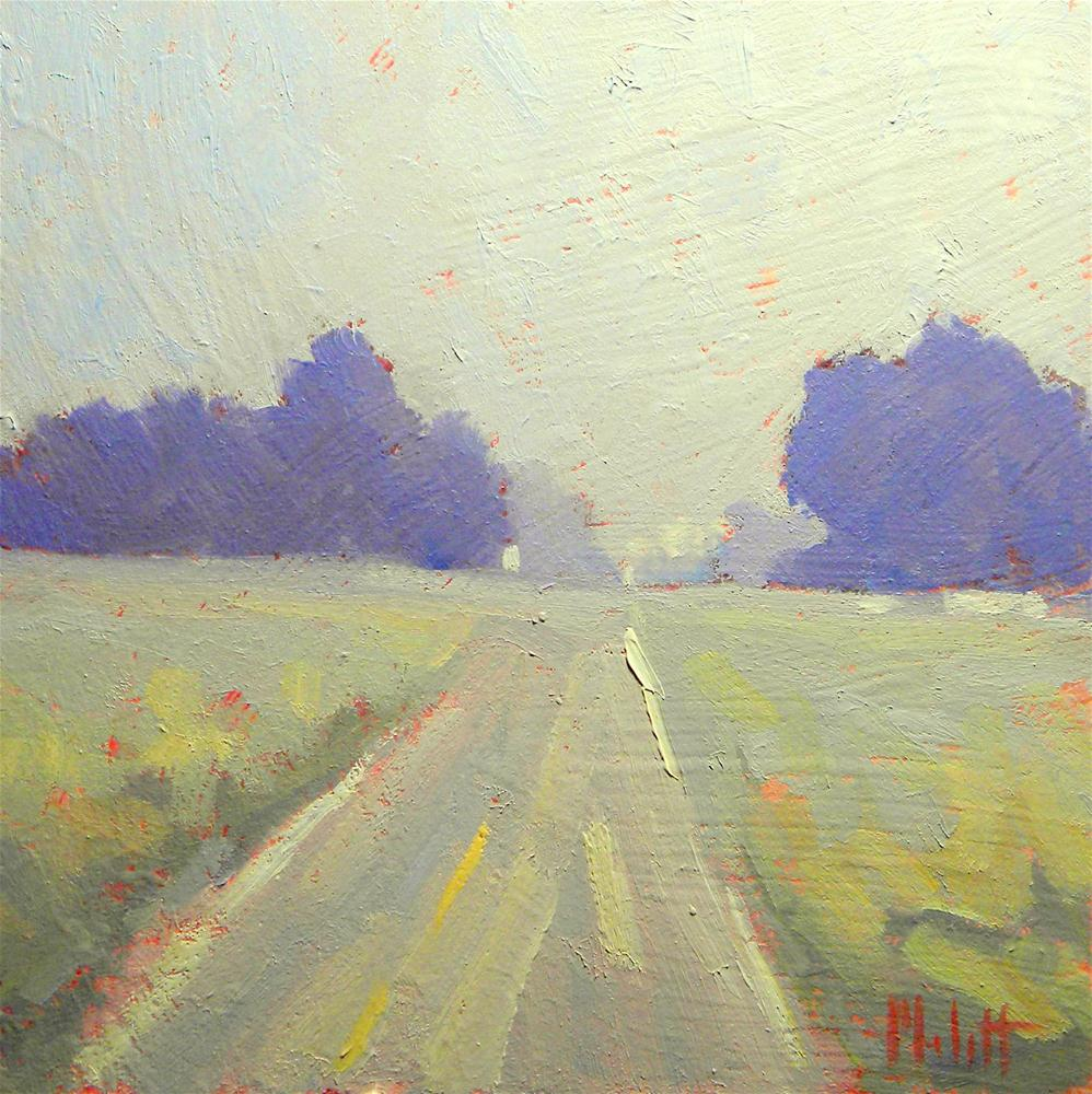 """Early Morning Road"" original fine art by Heidi Malott"