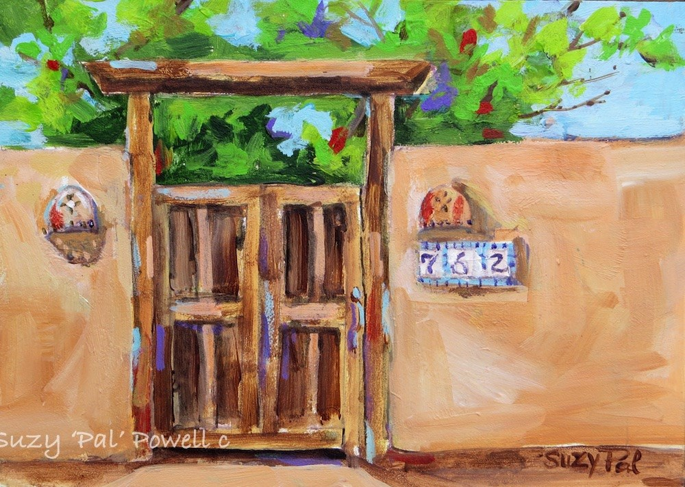 """Santa Fe #10"" original fine art by Suzy 'Pal' Powell"