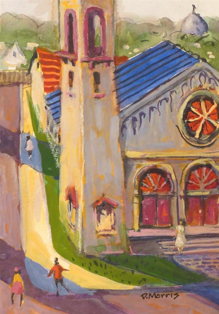 """Piedmont United Presbyterian PDX"" original fine art by Dann Morris"