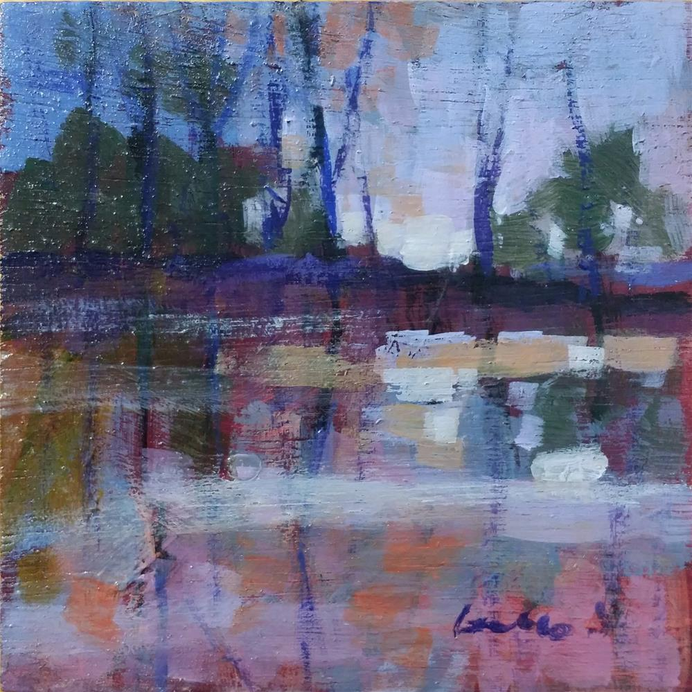 """landscape #2"" original fine art by salvatore greco"
