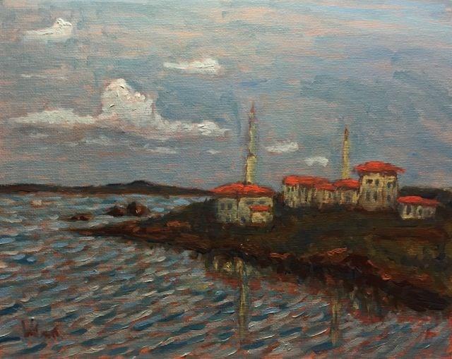 """Istanbul #2"" original fine art by William Cook"