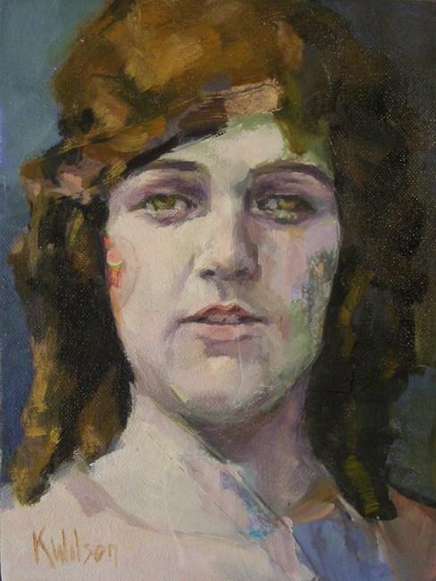 """Goddess of the Everlasting"" original fine art by Katie Wilson"