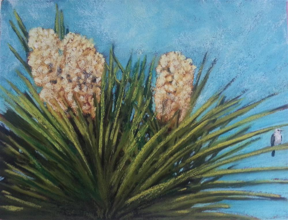 """Yucca Castle"" original fine art by Anna Lisa Leal"
