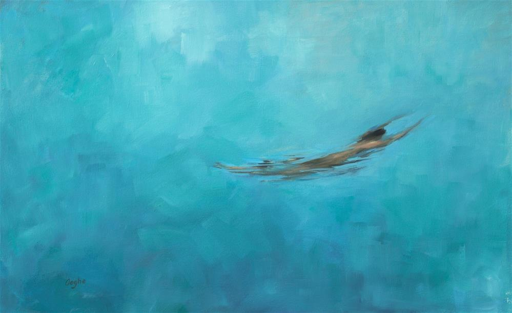 """Deep Pool"" original fine art by Angela Ooghe"