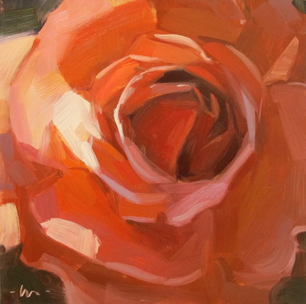 """""""Warm Budded"""" original fine art by Carol Marine"""