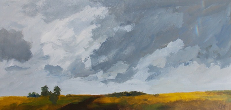 """Cloud Play"" original fine art by Pamela Munger"