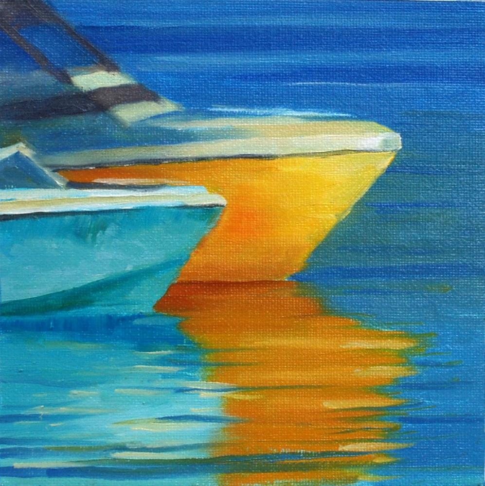 """Melissa's Boats"" original fine art by Susan McManamen"