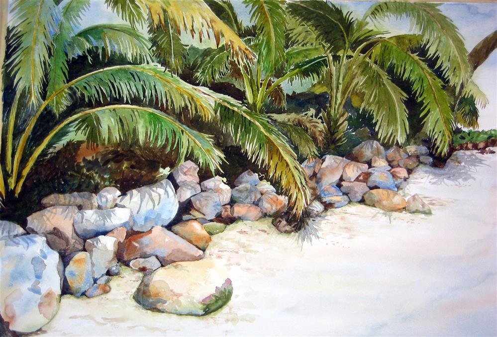 """Bocas del Toro"" original fine art by Crisynda Buss"