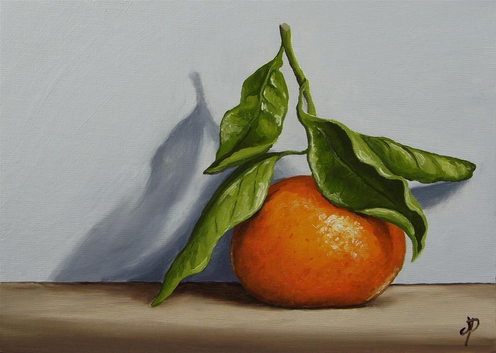 """Clementine Shadow"" original fine art by Jane Palmer"