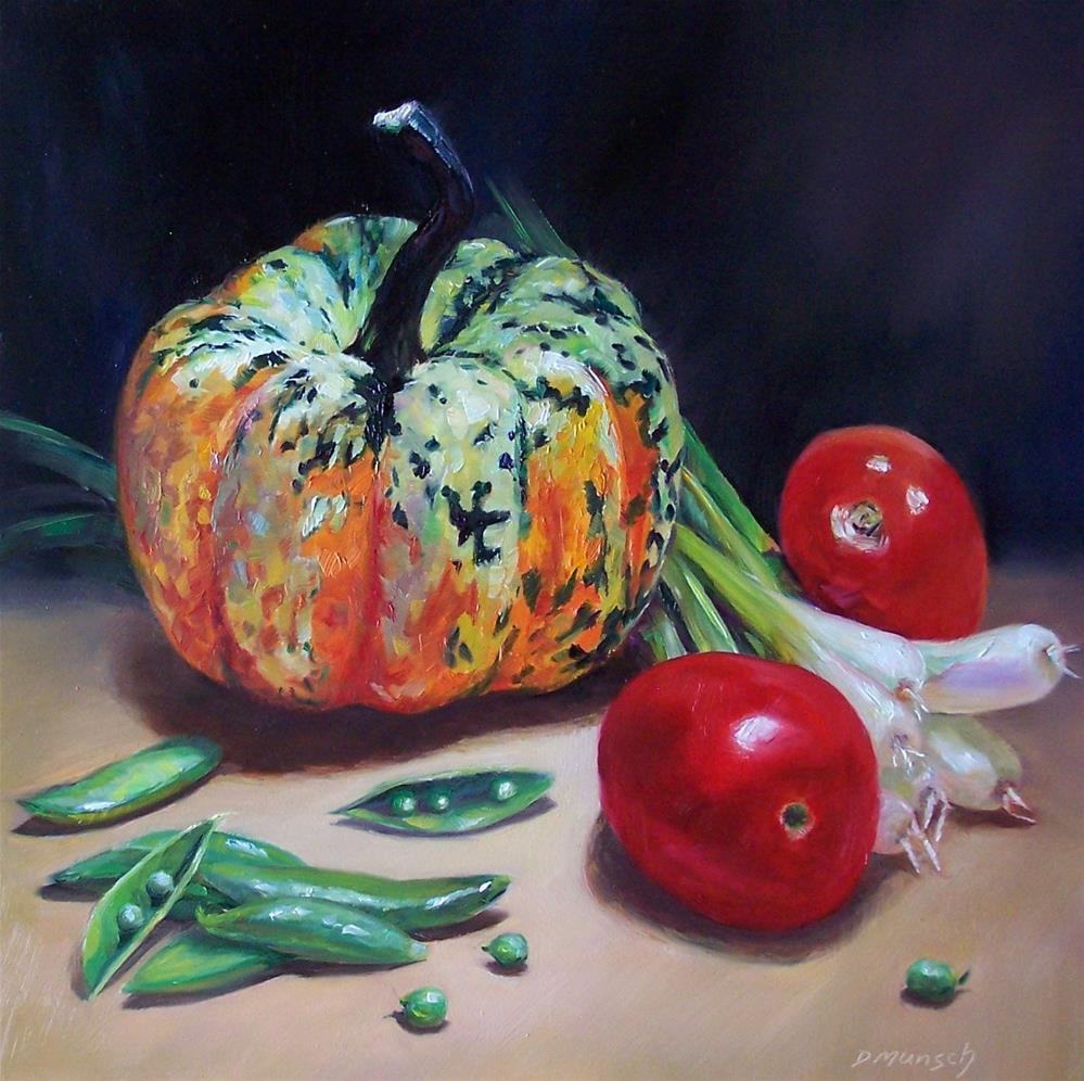 """Autumn Harvest"" original fine art by Donna Munsch"