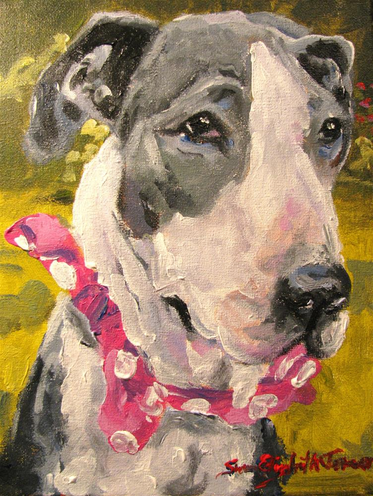 """Junebug"" original fine art by Susan Elizabeth Jones"