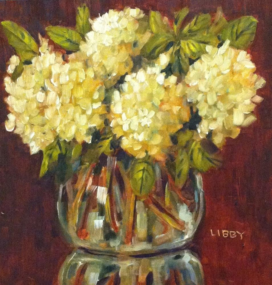 """Bowl of Snow"" original fine art by Libby Anderson"
