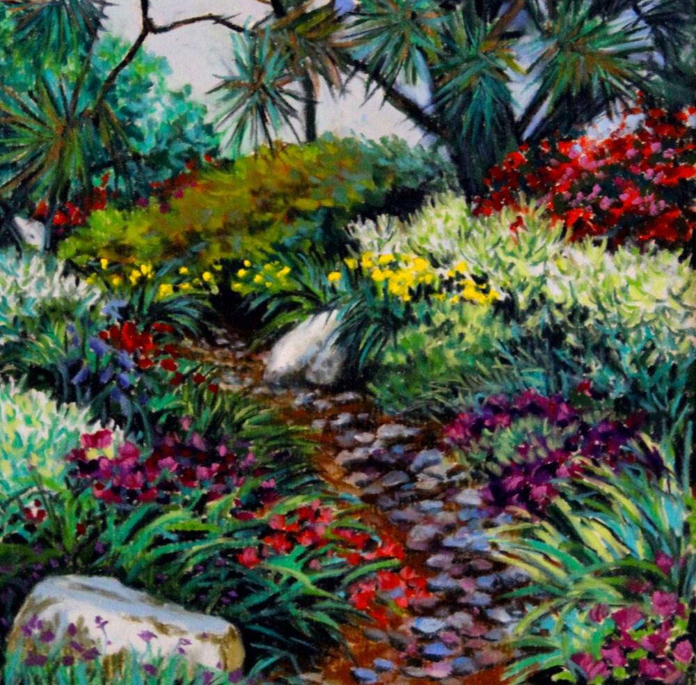 """""""Memory in Bloom"""" original fine art by Jill Bates"""