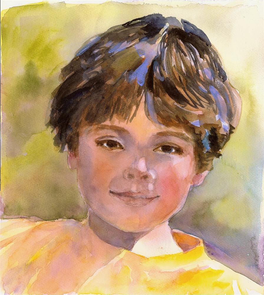 """Aiden"" original fine art by Reveille Kennedy"