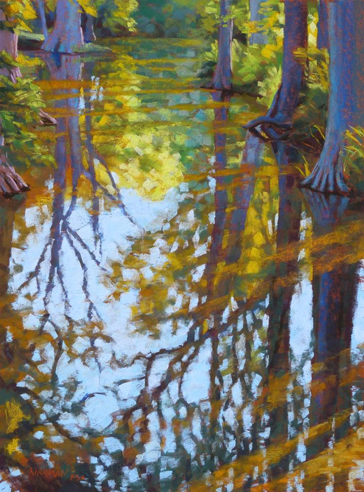 """Morning Reflection"" original fine art by Rita Kirkman"