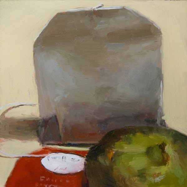 """Fig and Tea"" original fine art by Randall Cogburn"