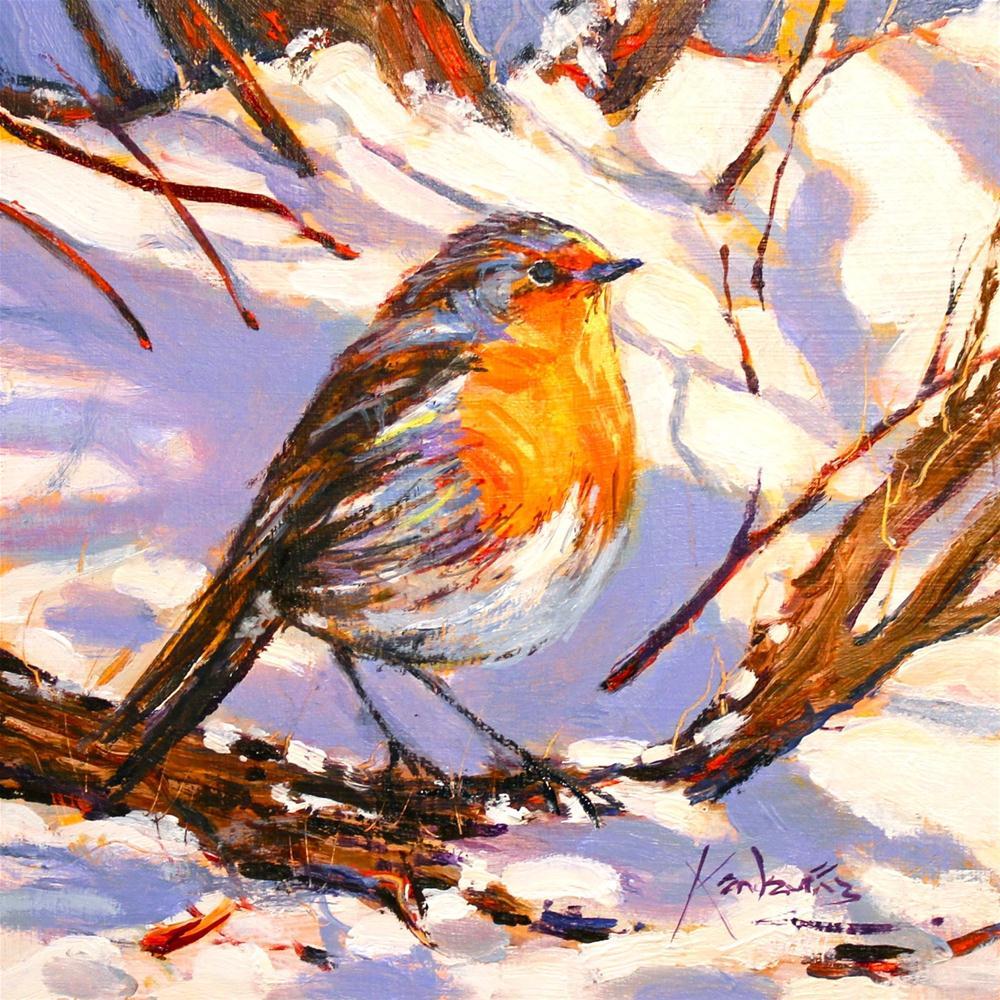 """My Little Friend"" original fine art by Ken Devine"