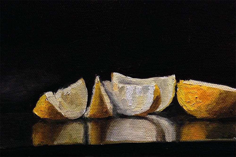 """Lemon Cucumber"" original fine art by Chris Beaven"