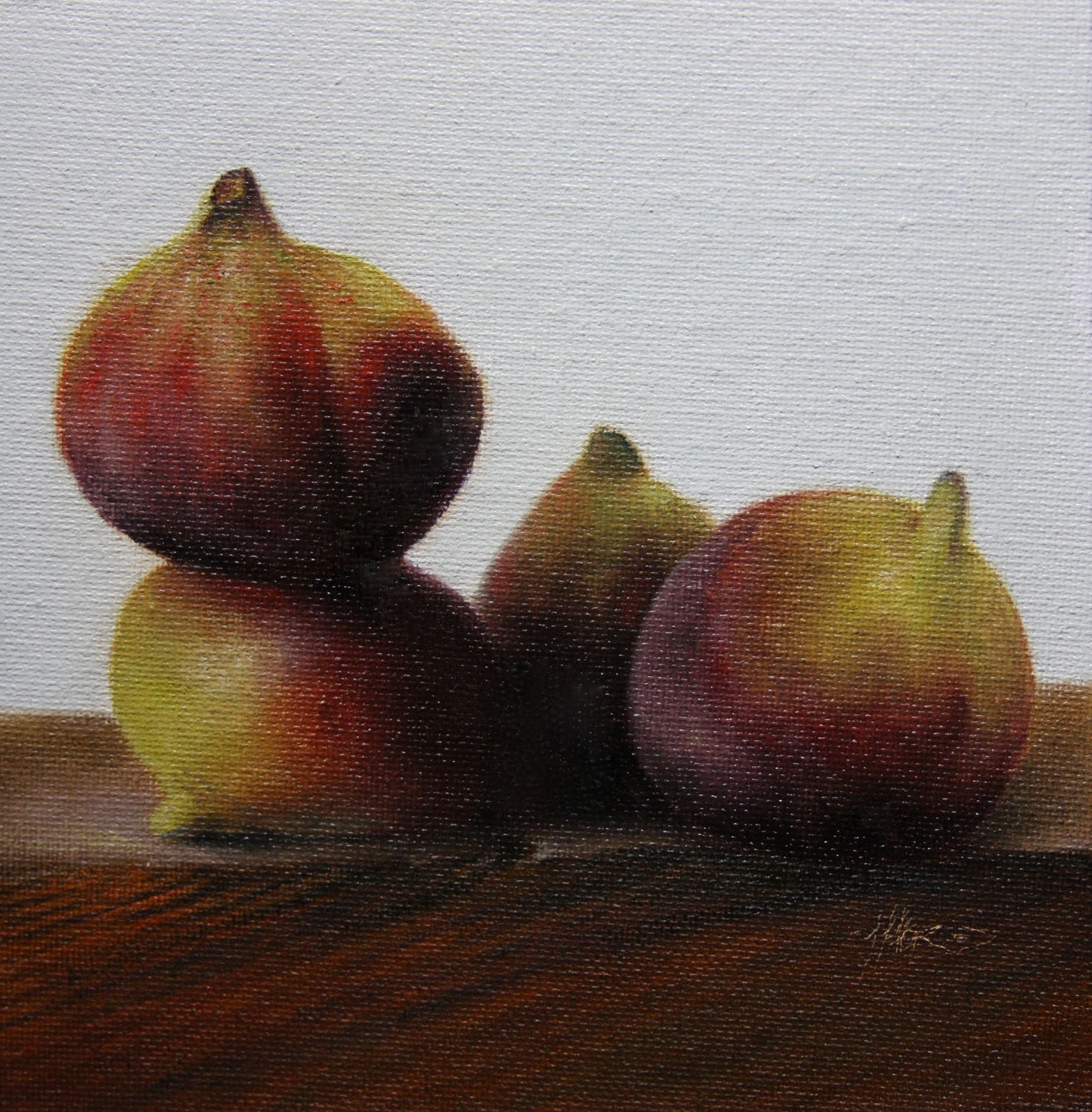 """Figs"" original fine art by Jonathan Aller"