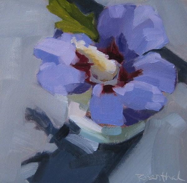 """Rose of Sharon"" original fine art by Robin Rosenthal"