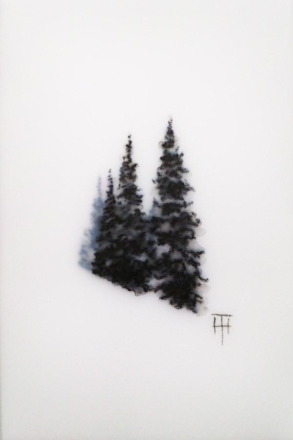 """Mountain Gems I"" original fine art by Terri Heinrichs"