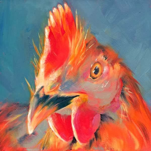 """Lucky Too"" original fine art by Brenda Ferguson"