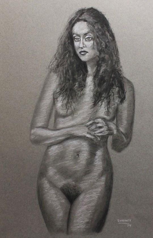 """Nudes Study"" original fine art by Daniel Varney"