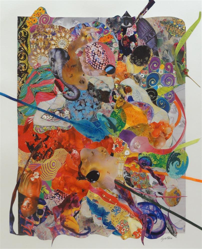 """""""Olvera Street Fiesta 2"""" original fine art by Cynthia Frigon"""