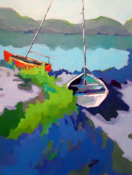 """""""Looking Forward"""" original fine art by Laurie Mueller"""