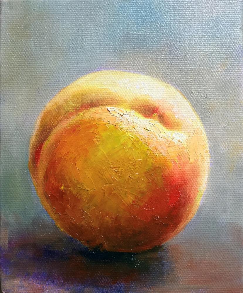 """""""peach"""" original fine art by Joy Cai"""
