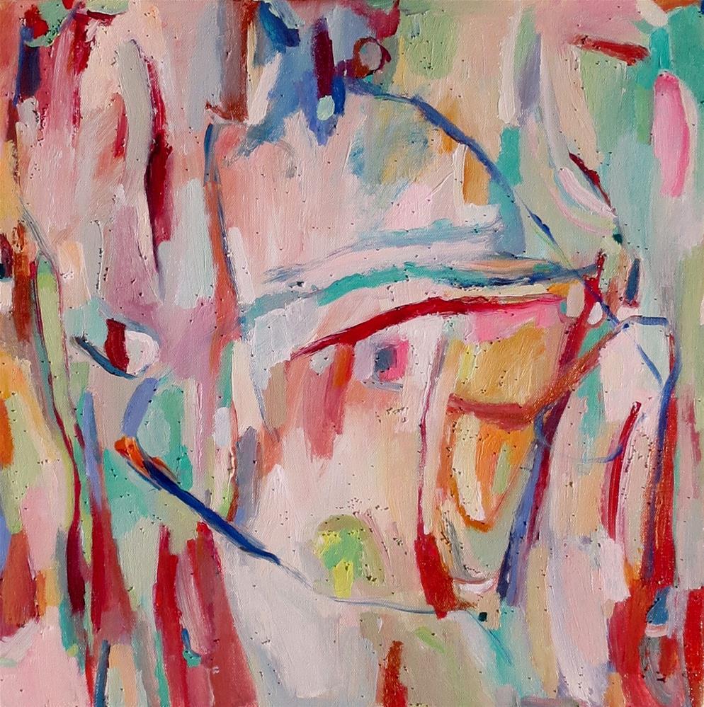 """""""Blueprint"""" original fine art by Nava Judith"""