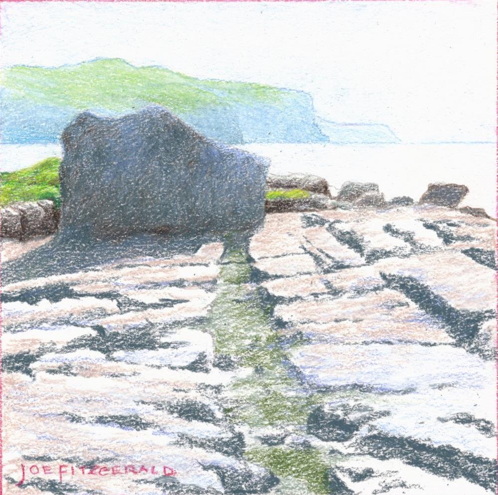 """""""On The Burren II"""" original fine art by Joe Fitzgerald"""