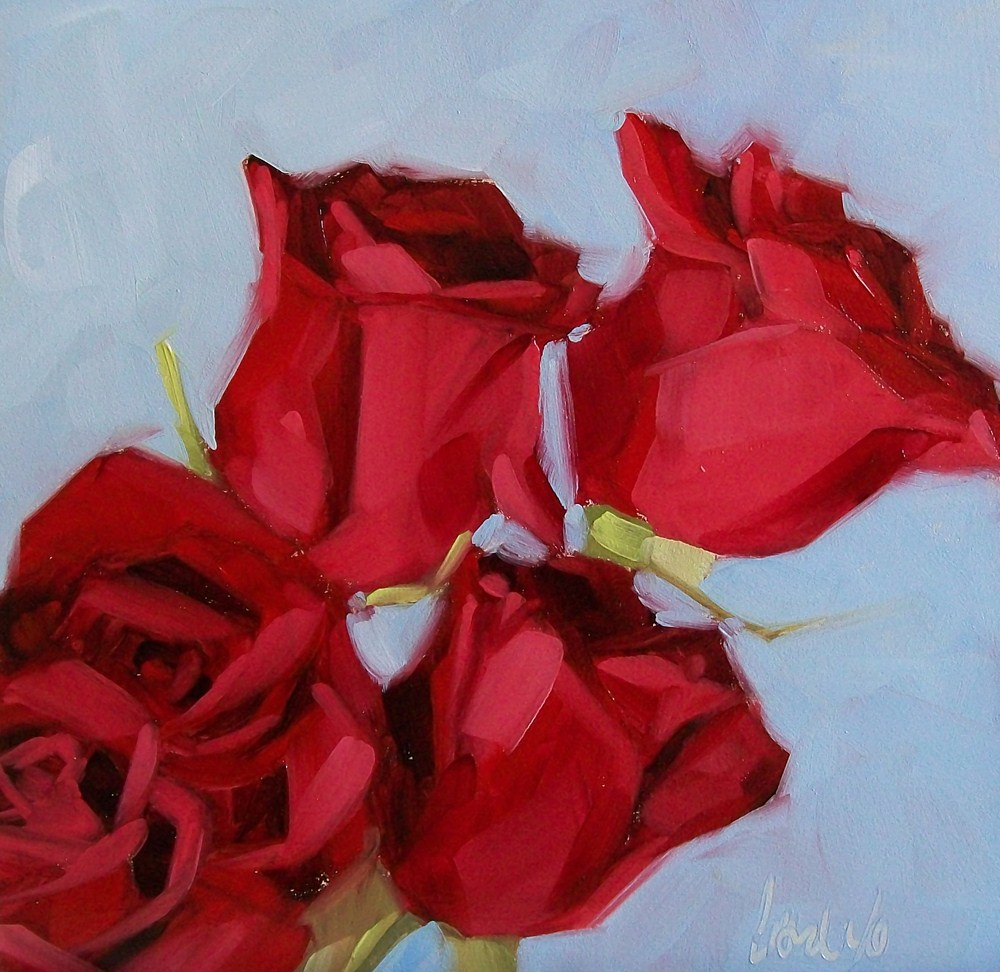 """Roses are red"" original fine art by Brandi Bowman"