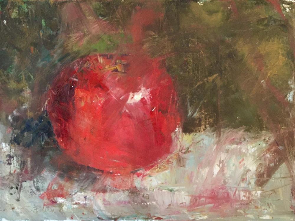 """""""An Apple A Day"""" original fine art by Sherri Burritt"""