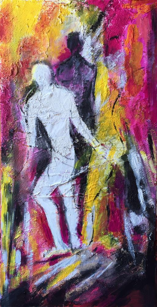 """Silhouettes"" original fine art by Monica Pinotti"