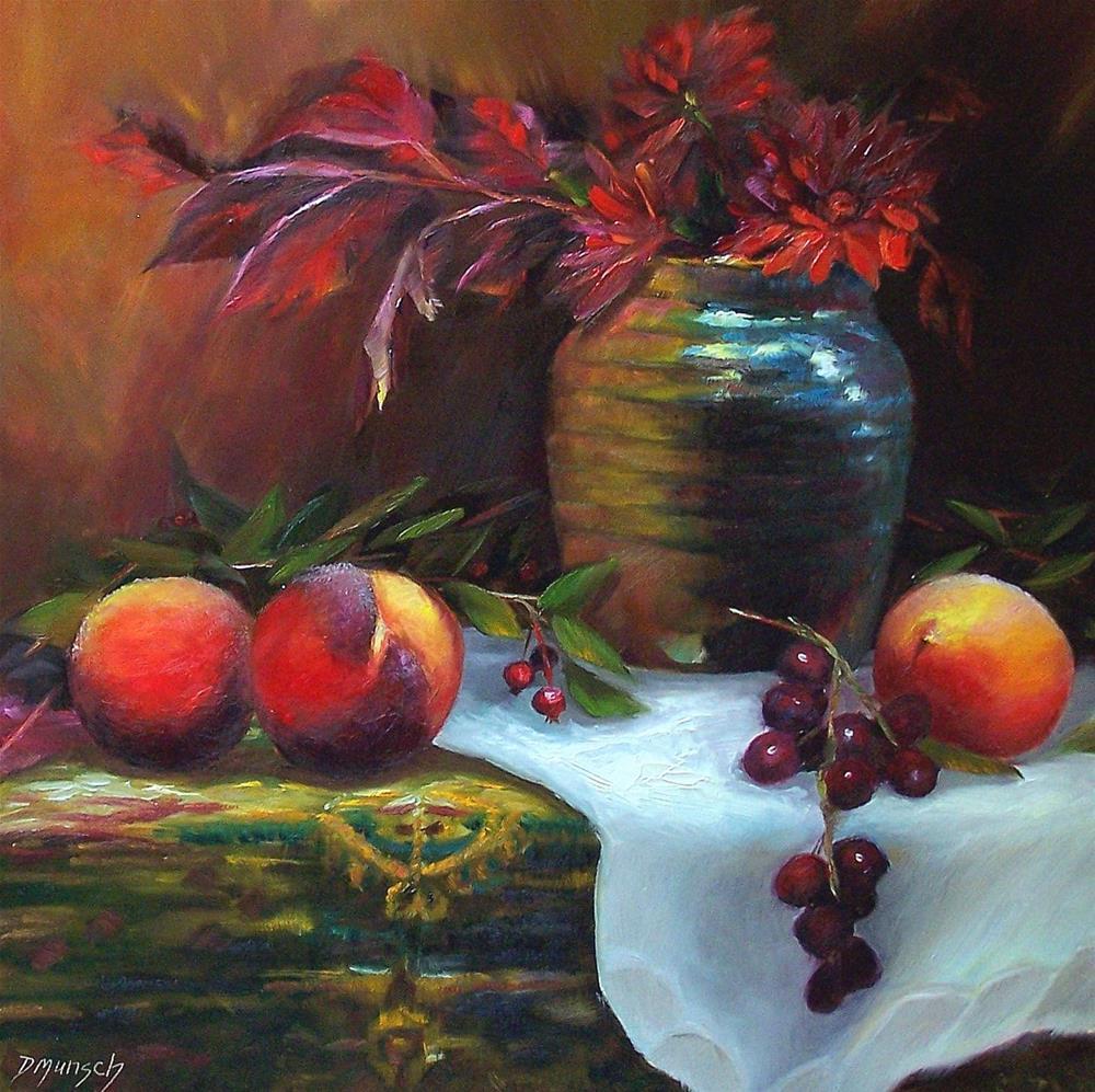 """Red Everywhere"" original fine art by Donna Munsch"