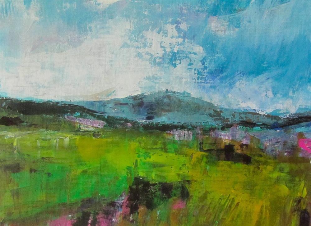 """Skye Drive (study #1)"" original fine art by Patricia MacDonald"