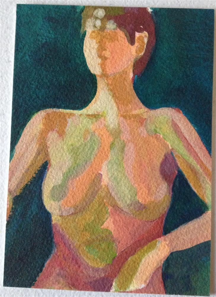 """""""Nude # 2"""" original fine art by Dawn Melka"""