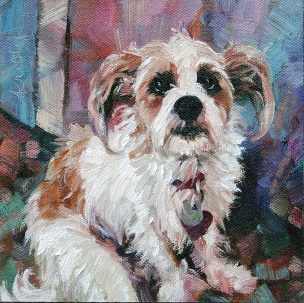 """BAILEY"" original fine art by Kristy Tracy"