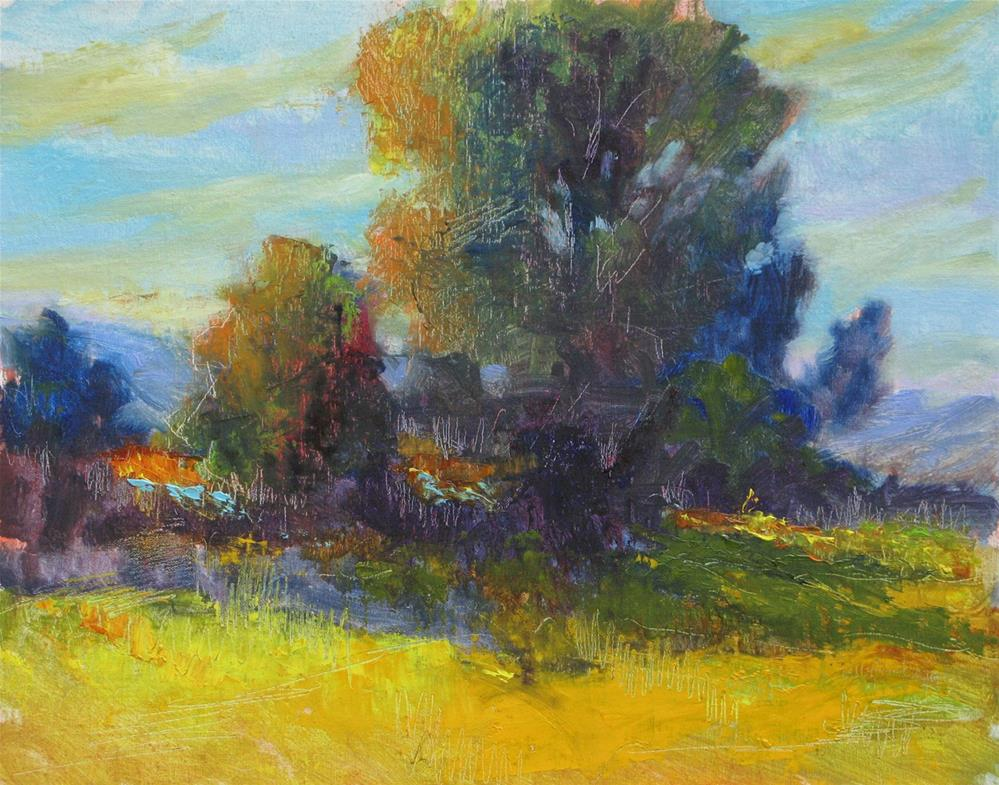 """Golden Morning"" original fine art by Marsha Savage"