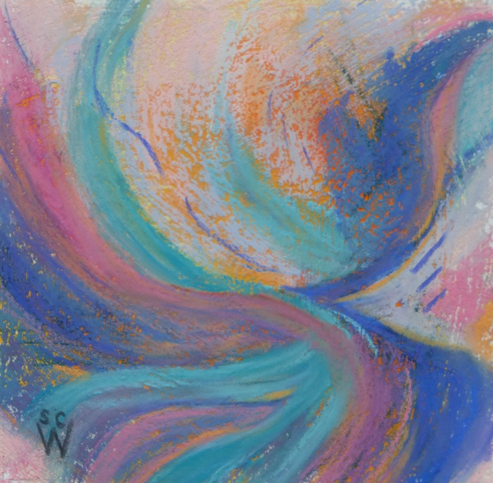 """Flow"" original fine art by Susan Woodward"