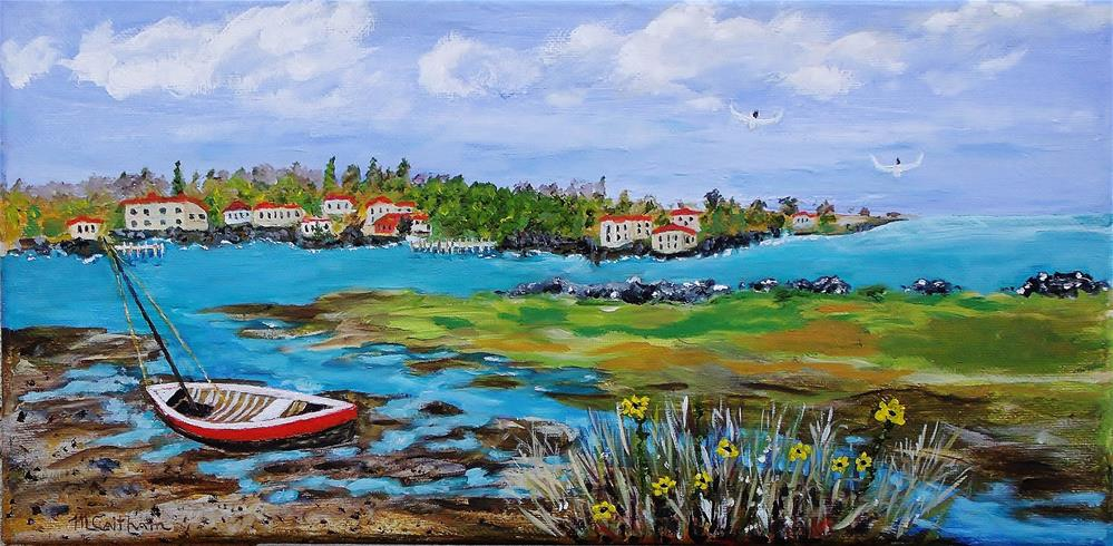 """Low Tide"" original fine art by Mike Caitham"