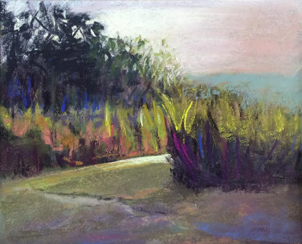 """To The Palisades II"" original fine art by Cristine Kossow"