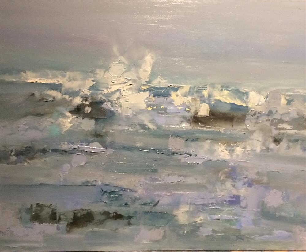 """Salty Seawater"" original fine art by Astrid Buchhammer"