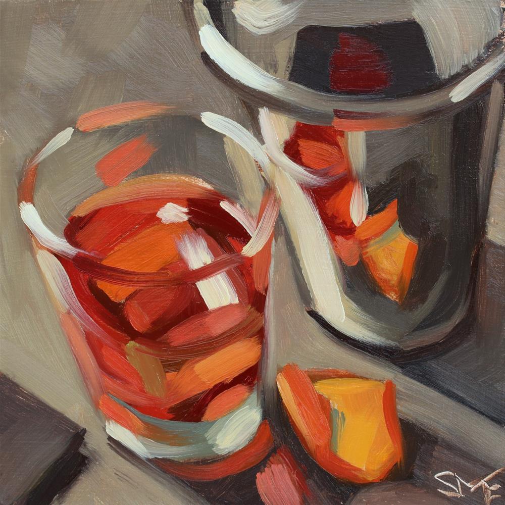"""Red Rocks"" original fine art by Sheila Evans"