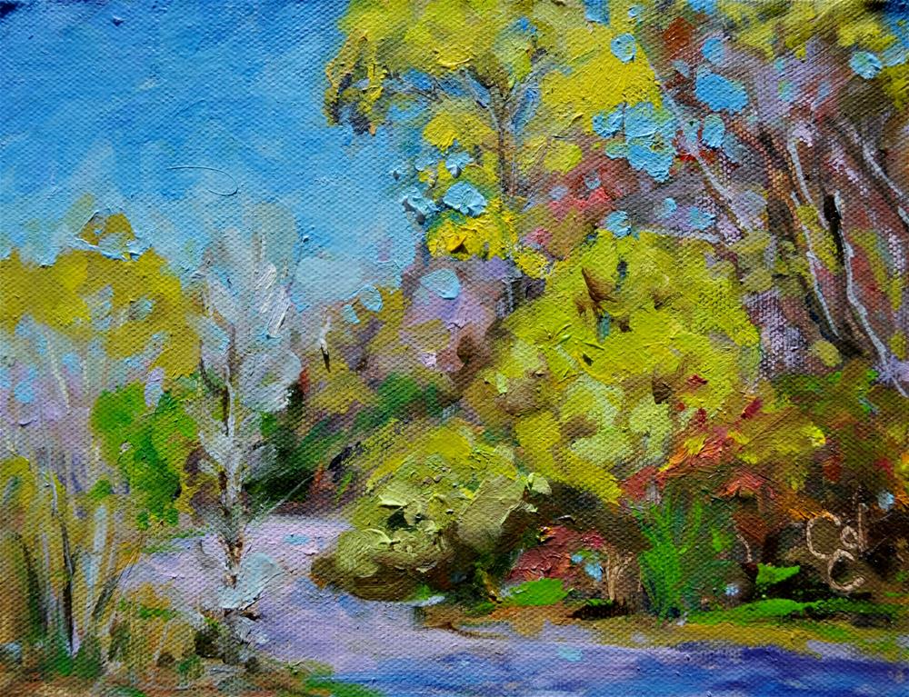 """Maple Creek Beauty"" original fine art by Catherine Crookston"