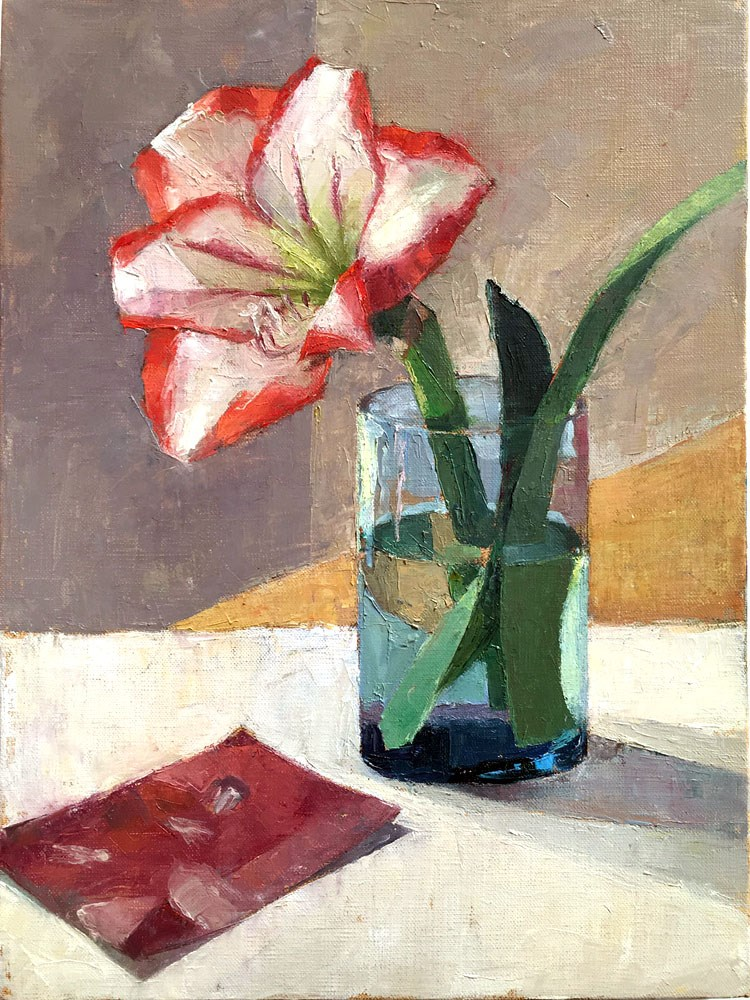 """Lily and Otto Dix"" original fine art by Myriam Kin-Yee"