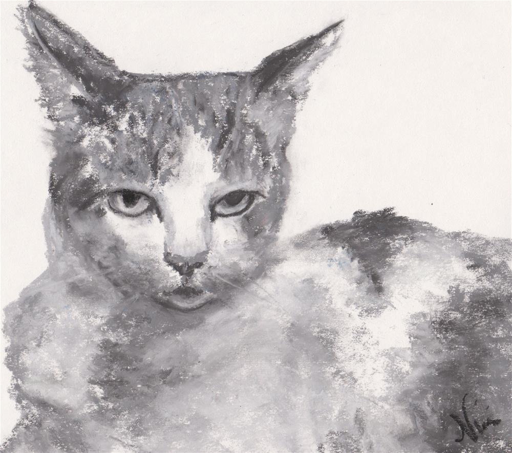 """Displeased"" original fine art by Niki Hilsabeck"