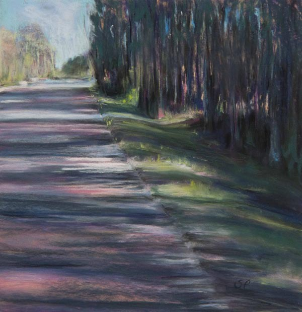 """Louisiana Shadows"" original fine art by Sarah Peroutka"