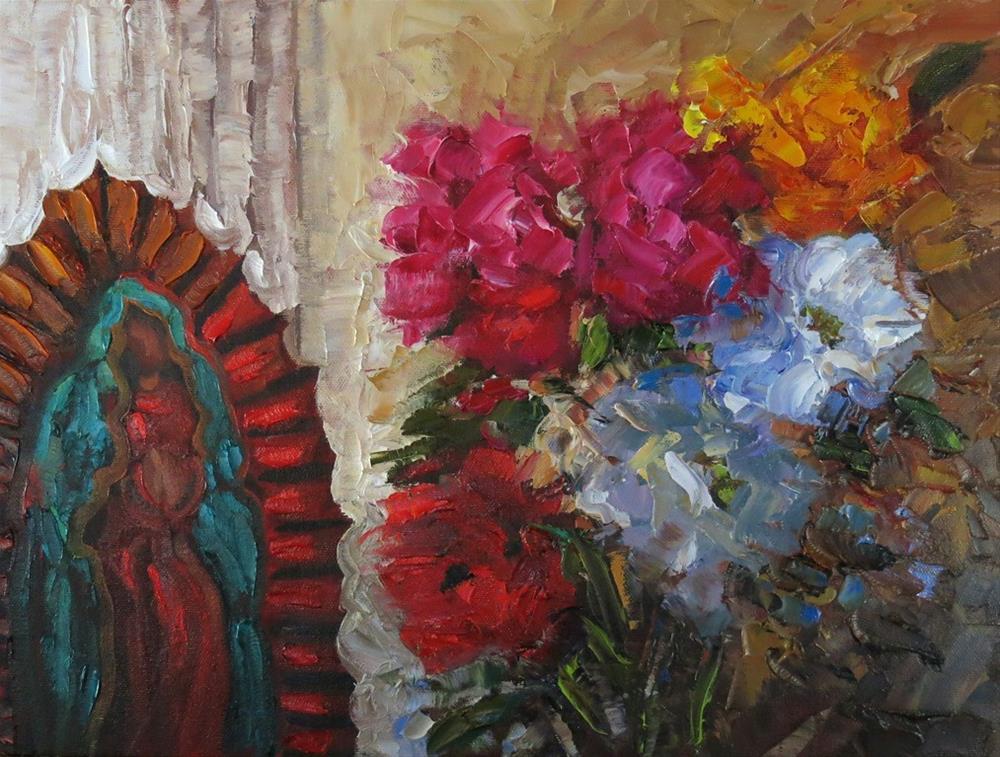 """SACRED GARDEN"" original fine art by Dee Sanchez"